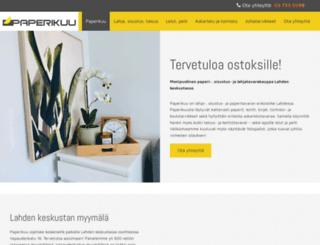 paperikuu.fi screenshot
