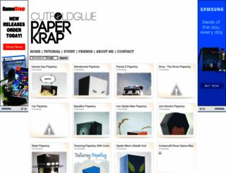 paperkrap.blogspot.com screenshot
