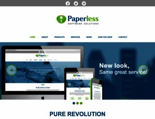 paperless.co.za screenshot