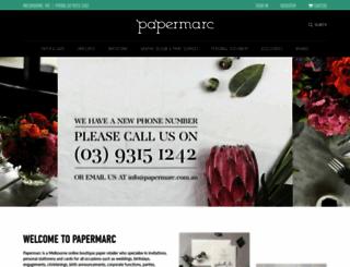papermarc.com.au screenshot