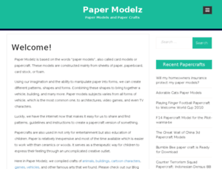 papermodelz.info screenshot