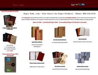 paperpads.com screenshot
