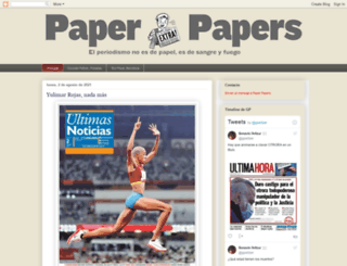 paperpapers.blogspot.com screenshot