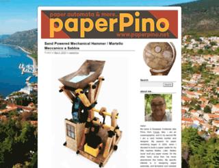 paperpino.net screenshot