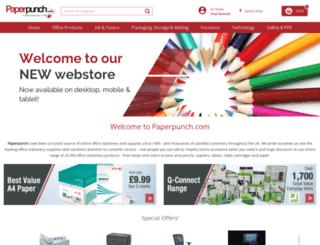 paperpunchplus.com screenshot
