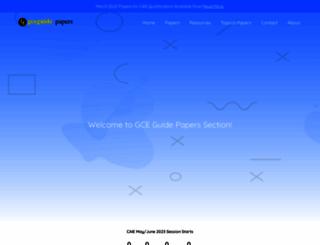 papers.gceguide.com screenshot
