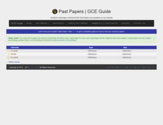 papers.gceguide.xyz screenshot