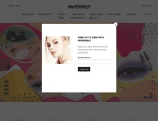 paperself.com screenshot