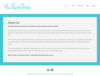 papershop.com screenshot
