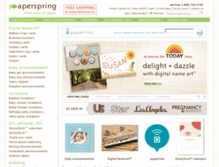 paperspring.com screenshot