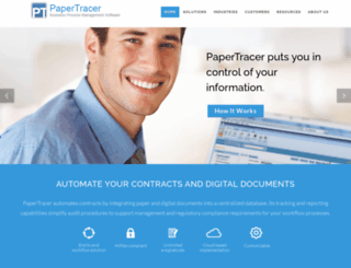 papertracer.com screenshot