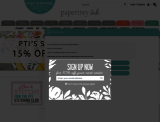 papertreyink.com screenshot