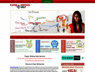 paperwritinghelp.co.uk screenshot
