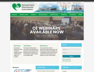 papharmacists.site-ym.com screenshot
