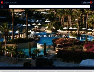 paphos-hotel.com screenshot