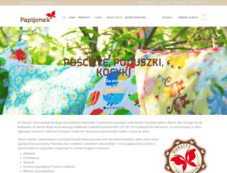 papijonek.pl screenshot
