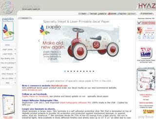 papilio.com screenshot