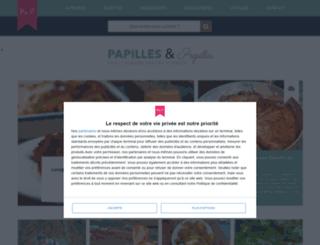 papillesetpupilles.com screenshot