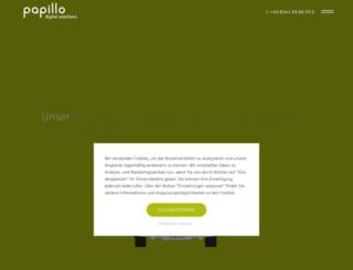 papillo.net screenshot