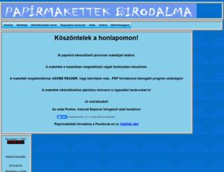 papirmakett.fw.hu screenshot