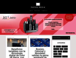 papiromedia.com screenshot