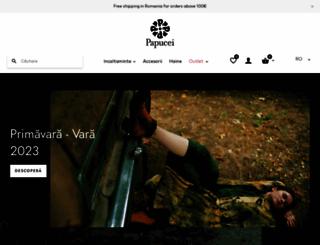 papucei.ro screenshot