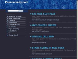 papucomedy.com screenshot
