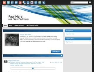 papy-paul-mara.com screenshot