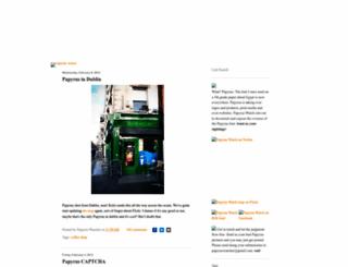 papyruswatch.com screenshot
