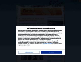 par-baj.blog.hu screenshot