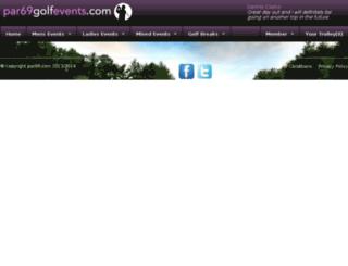 par69golfevents.com screenshot