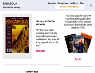 parabola.org screenshot