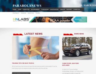 parabolanews.com screenshot