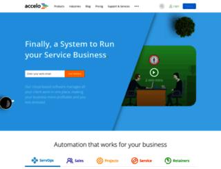 parachutech.affinitylive.com screenshot