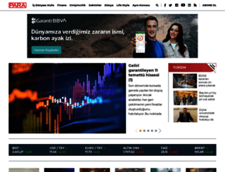 paradergi.com.tr screenshot