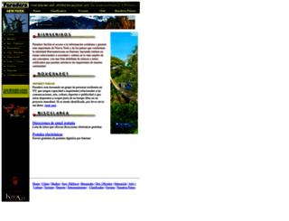 paradero.com screenshot