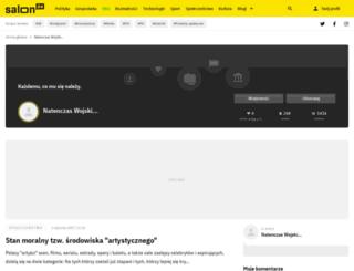 paradicsom.salon24.pl screenshot