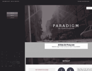 paradigm.jcink.net screenshot