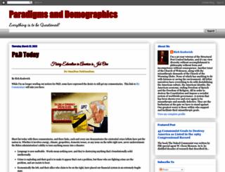 paradigmsanddemographics.blogspot.com.ar screenshot
