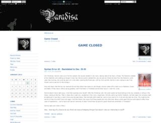 paradisa.dreamwidth.org screenshot