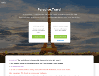 paradise.travel screenshot