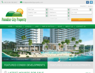 paradisecityproperty.com screenshot