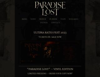 paradiselost.co.uk screenshot