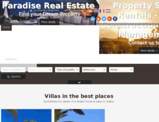 paradisepropertysolutions.com screenshot
