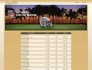 paradisesb.com screenshot