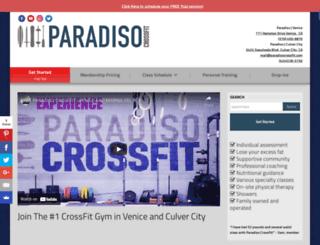 paradisocrossfit.com screenshot
