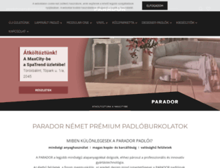 paradoronline.hu screenshot