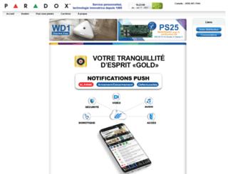paradox.ca screenshot