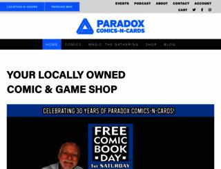 paradoxcnc.com screenshot