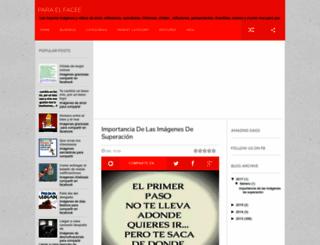 paraelfacee.blogspot.com screenshot